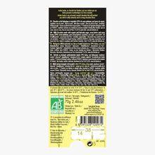 Andoa bar, organic, fair trade milk chocolate (39 % minimum cocoa, pure cocoa butter) Valrhona