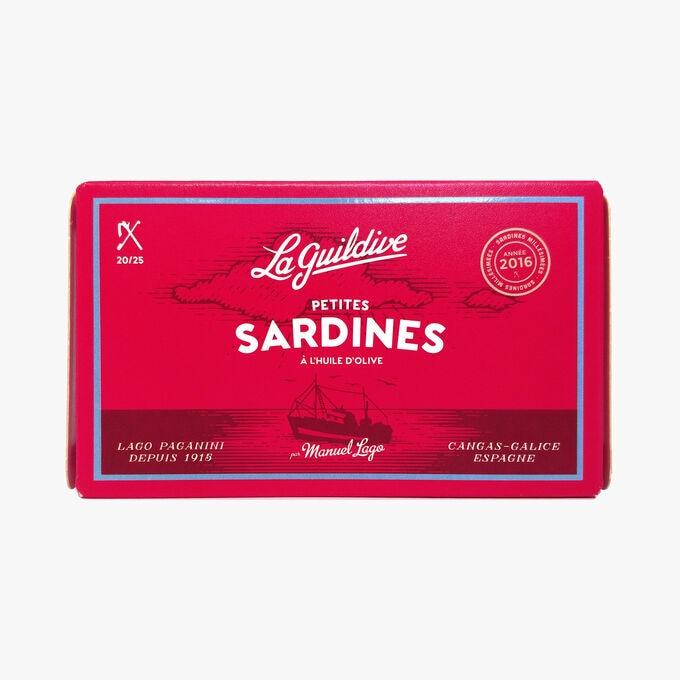 Petites sardines à l'huile d'olive La Guildive