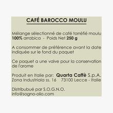 Café moulu Barocco 100% Arabica (sachet) Quarta