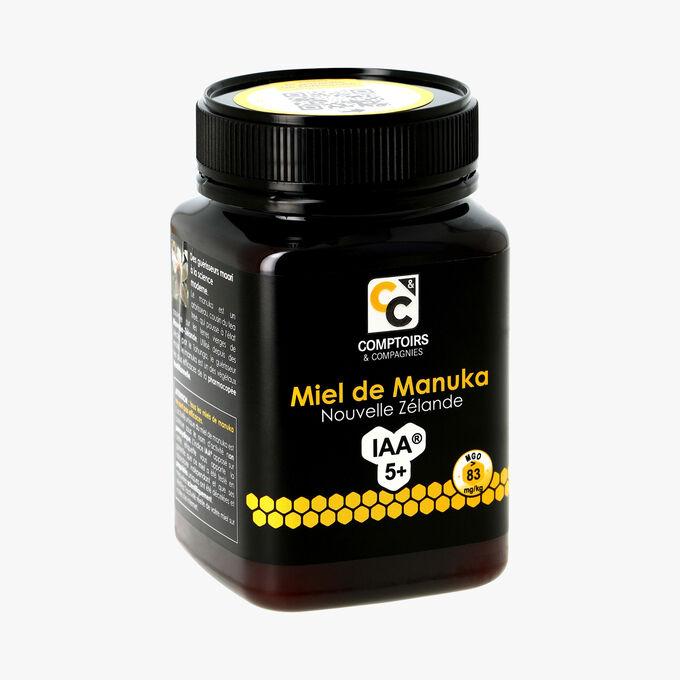 Miel de Manuka IAA5+, Nouvelle-Zélande, 500 g Comptoirs et Compagnies