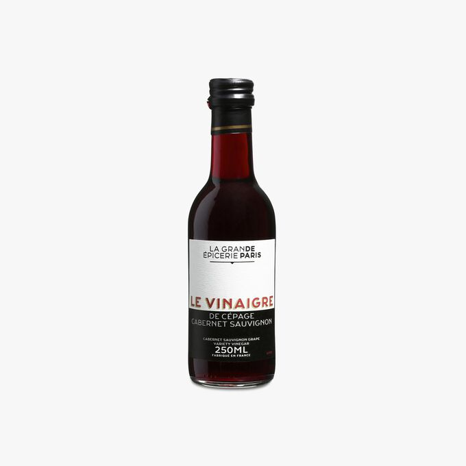 Red wine vinegar (made with Cabernet Sauvignon grapes) with grape must, 6 % acidity La Grande Épicerie de Paris