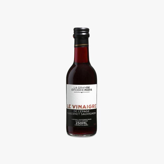 Vinaigre de vin rouge (cépage Cabernet Sauvignon) au moût de raisin 6% d'acidité La Grande Épicerie de Paris