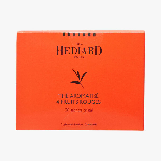 Tea perfumed with 4 red fruits Hédiard