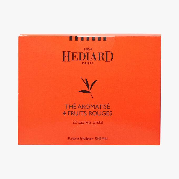Tea perfumed with 4 red fruits Hédiard