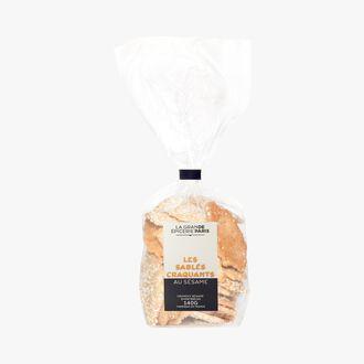 Crisp sesame shortbread biscuits La Grande Épicerie de Paris