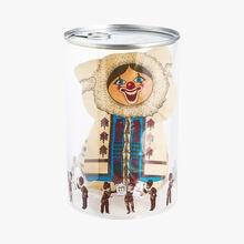 Tubo esquimau clown chocolat blanc Chapon
