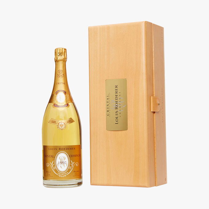 Champagne brut Louis Roederer, Cristal 1997, Magnum Louis Roederer