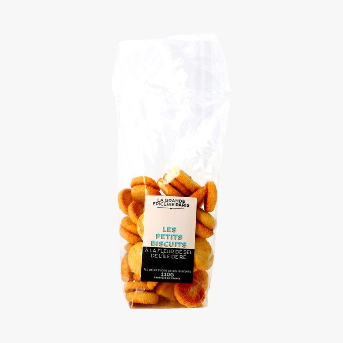 Les petits biscuits à la fleur de sel de l'île de Ré La Grande Épicerie de Paris