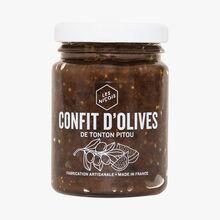 Confit d'olives de tonton Pitou Les Niçois