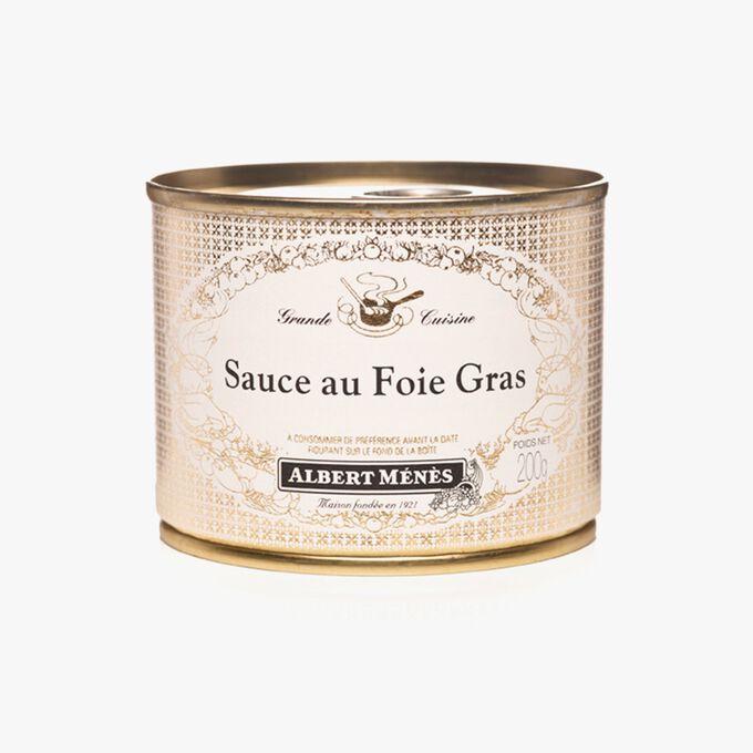 Foie gras sauce Albert Ménès