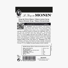 Lemon cordial Monin