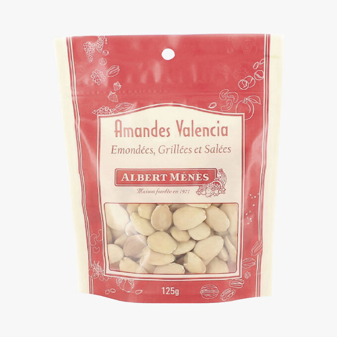 Valencia almonds, shelled, toasted and salted Albert Ménès