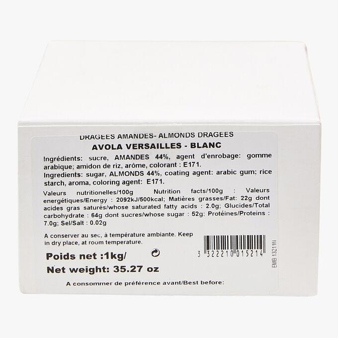 Dragées Amandes Avola - Versailles Blanc Reynaud