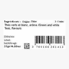 Thé des Neiges, Gourmandise de thés vert et blanc Compagnie Coloniale