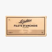 Filets d'anchois de cantabrie La Guildive