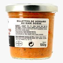 Les rillettes de homard au Kari Gosse La Grande Épicerie de Paris