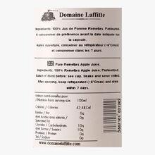 Pur jus de pomme Reinettes Domaine Laffitte