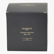 Jardin Bleu perfumed black tea - Box of 25 teabags Dammann Frères