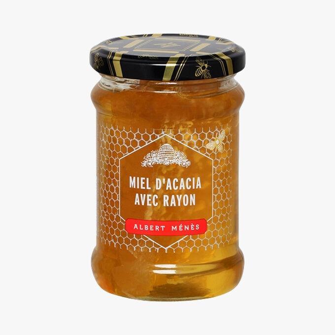 Miel d'acacia avec rayon Albert Ménès