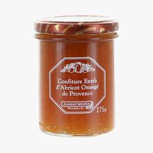 Confiture extra d'abricot orangé de Provence Albert Ménès