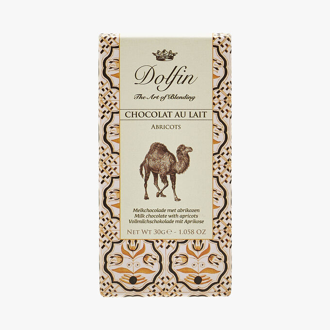 Milk chocolate - Apricot Dolfin