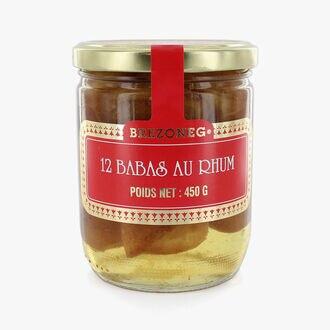 12 rum babas Biscuiterie Le Drean