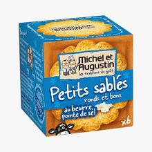 Petits sablés au beurre, pointe de sel Michel et Augustin