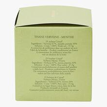 Tisane Verveine Menthe - Boîte de 25 sachets Dammann Frères