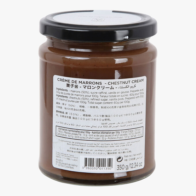 Crème de marrons Angelina
