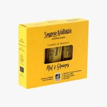Barre Bio de Granola Bio Miel & Graines SuperNature Catherine Kluger