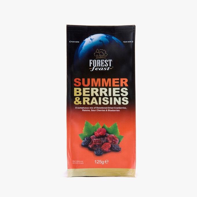 Summer berries and raisins Forest Feast