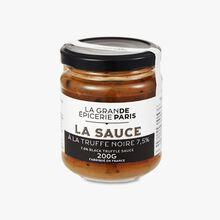 Black truffle sauce 7.5% La Grande Épicerie de Paris