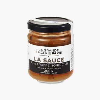 La Sauce à la truffe noire 7,5 %  La Grande Épicerie de Paris