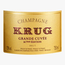 Krug Grand Cuvée Champagne 167th edition Krug
