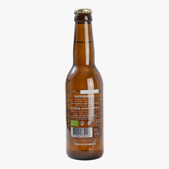 Bière bio au quinoa ALTIPLANO