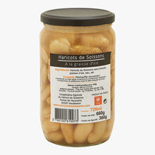Soissons beans with goose fat Haricot de Soissons