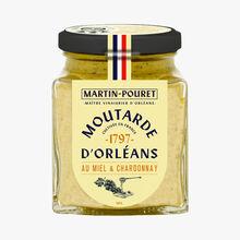 Moutarde au miel et Chardonnay Martin Pouret