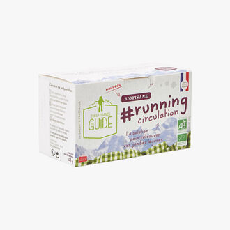 Infusion #running circulation - 20 sachets La Tisane du Guide