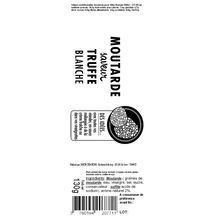 Moutarde saveur truffe blanche Savor & Sens