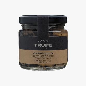 Summer truffle carpaccio  Artisan de la truffe