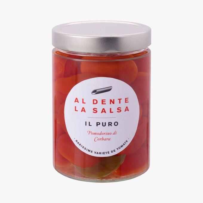 Il puro, pomodorino di corbara Al dente la salsa
