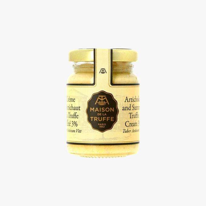 Crème d'artichaut à la truffe d'été 3 % - Tuber aestivum vitt Maison de la Truffe
