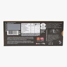 Chocolat suisse noir fourré à la crème aux noisettes et amandes Frigor