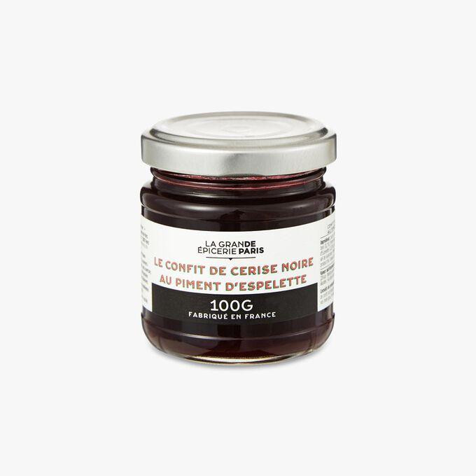 Confit de cerise noire au piment d'Espelette La Grande Épicerie de Paris