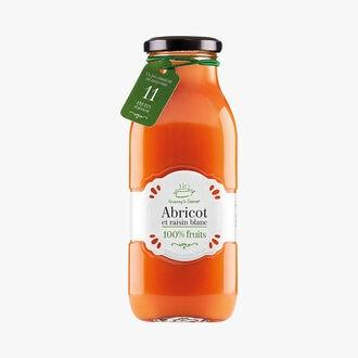 Jus d'abricot et de raisin blanc Granny's Secret