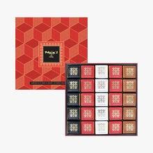 Assortiment de 50 carrés de chocolat Maxim's