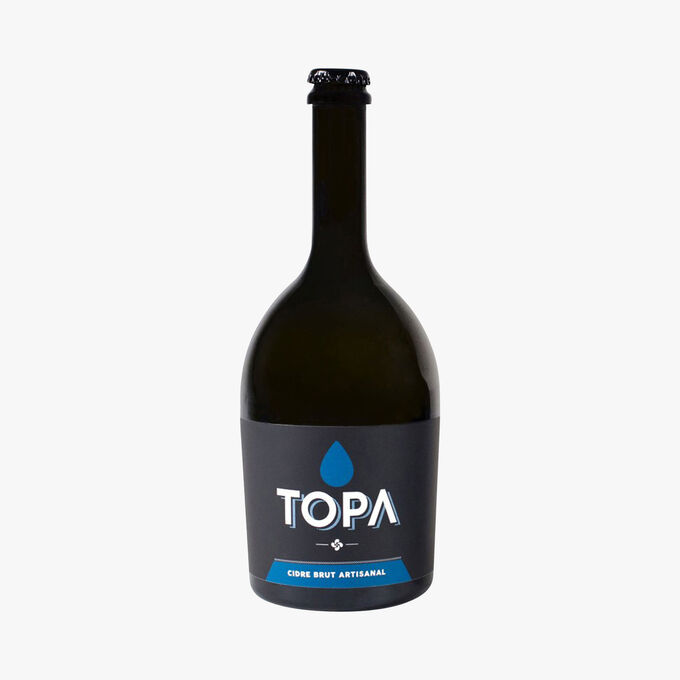 Brut craft cider Topa