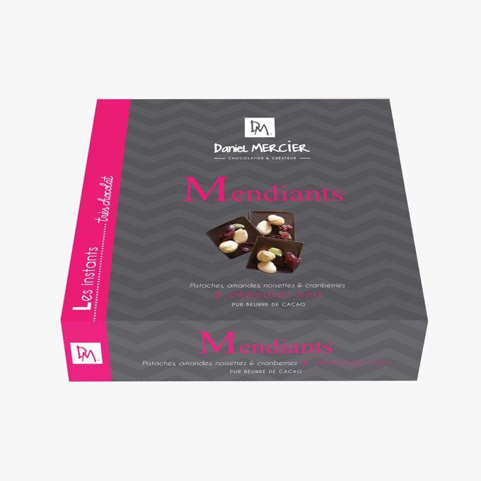 Dark chocolate mendiants Daniel Mercier