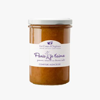 Apple and salted butter caramel jam – 'Paris je t'aime'  La Cour d'Orgères