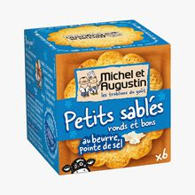 Little butter shortbread biscuits with a hint of salt Michel et Augustin